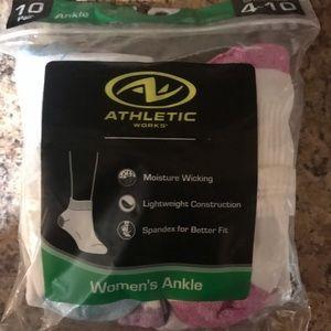 Athletic Works Women's Ankle Socks